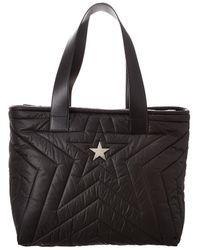 Stella McCartney Star Padded Econyl Tote - Black