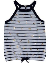 Nautica Striped Top - Blue