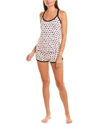 Hanky Panky 2pc Pyjama Short Set - Pink