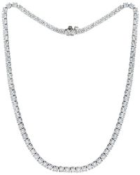 Diana M. Jewels . Fine Jewellery 18k 5.00 Ct. Tw. Diamond Necklace - Metallic