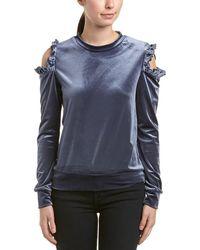 Drew - Samantha Dru Cold-shoulder Top - Lyst