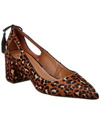 French Sole - Theron Leather Pump - Lyst
