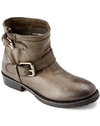 Ash Vegas Bis Leather Bootie - Brown