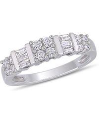 Rina Limor - 10k 0.50 Ct. Tw. Diamond Anniversary Ring - Lyst