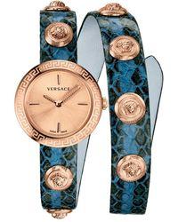 Versace Medusa Stud Icon Watch - Blue