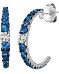 Le Vian ? 14k 1.03 Ct. Tw. Ceylon Sapphire Earrings - Blue