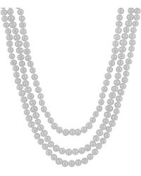 Splendid - 8-9mm Freshwater Pearl Endless 80in Necklace - Lyst