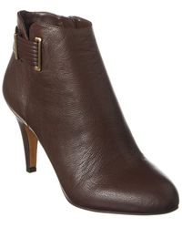 Vince Camuto Vinisha Leather Bootie - Brown