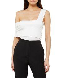 BCBGMAXAZRIA Knit Top - White