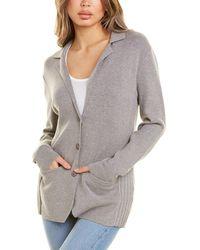 Bobi Pocket Blazer - Grey