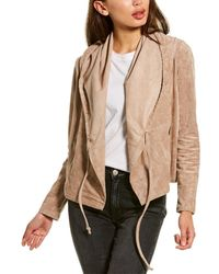 Blank NYC Hooded Jacket - Natural