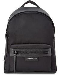 Longchamp Le Pliage Neo Small Canvas Backpack - Black