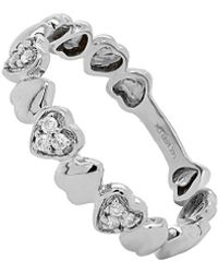Diana M. Jewels . Fine Jewelry 14k Diamond Ring - Metallic