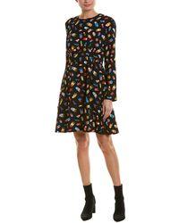 Love Moschino A-line Dress - Black