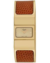 Hermès Hermes Women's Loquet Bangle Watch, Circa 2000s - Metallic