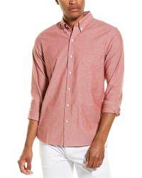 J.McLaughlin Westend Shirt - Red