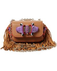 75514cfef5a Sweet Charity Leather Crossbody Bag - Multicolour