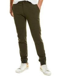 James Perse Aviator Wool-blend Pant - Green