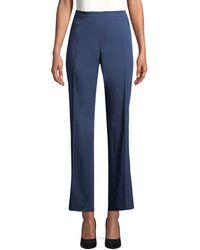 Punto Pleated Pant - Blue