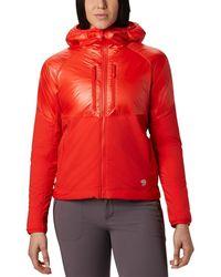 Mountain Hardwear Kor Strata Alpine Hoodie - Red