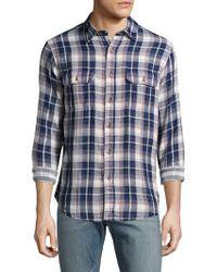 Tailor Vintage - Reversible Plaid Sportshirt - Lyst