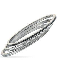 Calvin Klein Stainless Steel Cz Bracelet - Multicolour