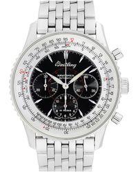 Breitling Breitling 1990s Men's Montbrilliant Watch - Metallic