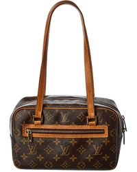 Louis Vuitton Monogram Canvas Cite Mm - Brown