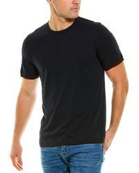 Vince Double Layer T-shirt - Blue