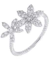 Diana M. Jewels . Fine Jewelry 14k 0.44 Ct. Tw. Diamond Ring - Metallic