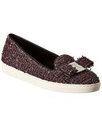 Ferragamo Novello Slippers - Purple