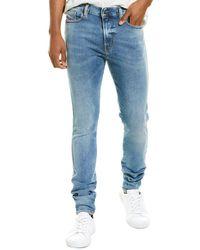 DIESEL D-istort Light Wash Super Skinny Jean - Blue