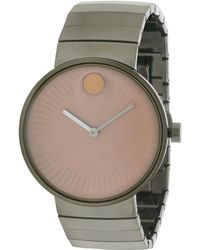 Movado - Men's 21mm Stainless Steel Watch - Lyst