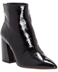 Vince Camuto Benedie Leather Bootie - Black