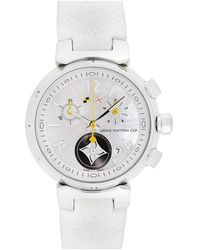 Louis Vuitton Louis Vuitton 2000s Women's Tambour Lovely Cup Watch - Metallic