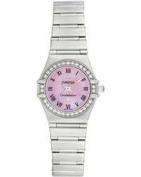 Omega Omega Women's Constellation Mini Diamond Watch, Circa 1990s - Multicolor