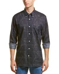 Billy Reid Holt Dress Shirt - Blue