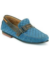 Bacco Bucci - Altieri Checked Leather Penny Loafers - Lyst