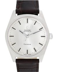 Omega Omega 1960s Men's Geneve Watch - Metallic