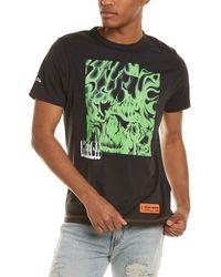 Heron Preston Box Skull T-shirt - Green