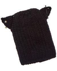 Eugenia Kim Felix Wool Hat - Black