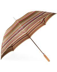 Missoni Enzo Striped Umbrella - Multicolour