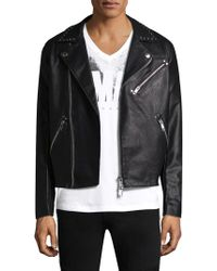 Armani Exchange - Studded Notch Jacket - Lyst