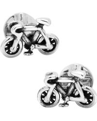 Ox and Bull Trading Co. - Moving Bicycle Cufflinks - Lyst