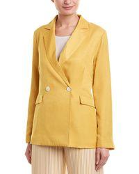 English Factory Soft Blazer - Yellow