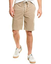 James Perse Relaxed Fit Utility Short - Natural
