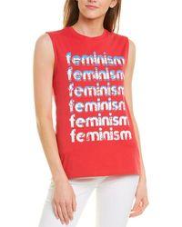 Rebecca Minkoff Feminism T-shirt - Red