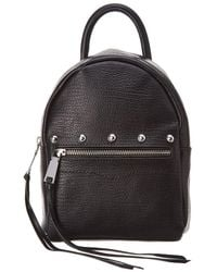 Rebecca Minkoff Madison Small Leather Backpack - Black