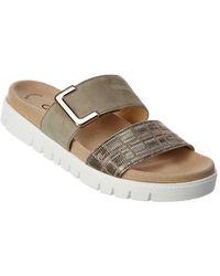 Gabor Suede Sandal - Grey