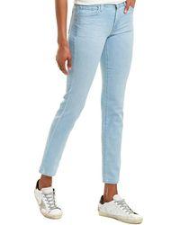 J Brand Maude Mid-rise Stratosphere Cigarette Leg - Blue